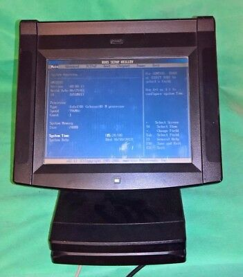 "PAR Everserv M5050 12"" Touchscreen Epos POS System 1ghz 256mb 80gb"