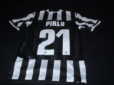 Juventus Italy Italia Serie A Soccer Football Small Mans Player Fit Pirlo Jersey