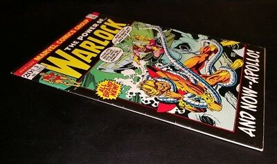 """WARLOCK (the power of) #3!! """"AND NOW-APOLLO""""!  WARLOCK ON COUNTER EARTH!!"""