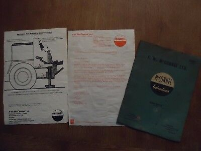 McConnel agricultural machinery manual
