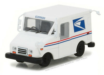 1/64 GREENLIGHT HITCH USPS - Long-Life Postal Delivery Vehicle (LLV) with Mailbo