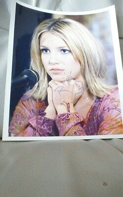 Brittany spears original autograph