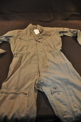 Coveralls Flyer's Summer Fire Resistant 40R Flight Suit CWU-27/P Sage Green A105