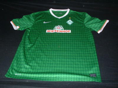 Werder Bremen German Germany Football XL Extra Large Mans Nike Home Jersey