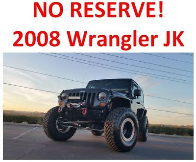 2008 Jeep Wrangler  2008 Jeep Wrangler 4WD -- NO RESERVE! -- Tons of modifications