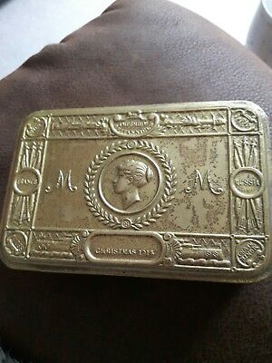 WW1 christmas tin 1914