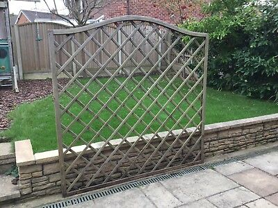 Wooden Trellis Panel (1800mm wide) 3 available - bid is for one panel