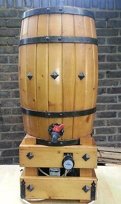 WINE WOODEN BARREL refrigerate COOLER  12 litre Made Italy