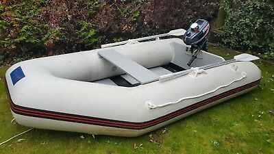 seago 260-SL tender with 3.5hp 2 stroke outboard engine