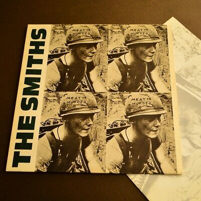 THE SMITHS Meat Is Murder LP 1985 Original 1st UK ROUGH TRADE w/ Inner ! EX+!