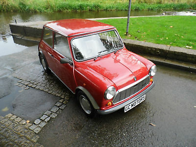 Austin Mini 1.0 City E only 22,800 miles 1988 in red