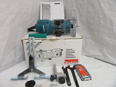 Make Us A Solid Offer Makita 3709 1/4in 4 Amp Fixed Base Laminate TrimmerRouter