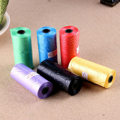 5 Roll Degradable Pet Dog Waste Poop Bag With Printing Doggy Bag 75PCS A