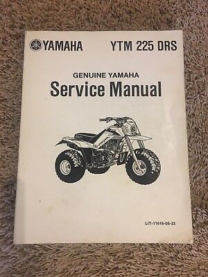 Yamaha YTM 225 DRS Service Manual Pre Owned