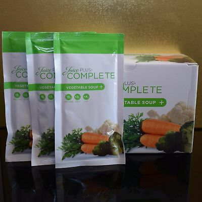 Juice Plus complete VEGETABLE soup zuppa pasto sositutivo 15 buste