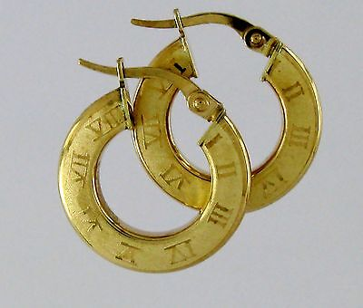 Hoop Earrings 10k Solid Gold