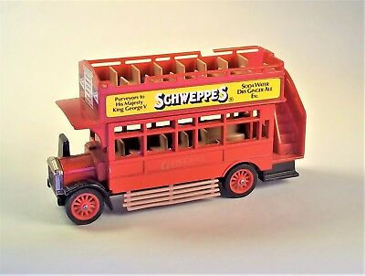 """Matchbox Models of Yesteryear A.E.C. """"S"""" Type Bus 1922 (c)1982 Made in England"""