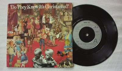 """Band Aid - Do They Know It's Christmas - 7"""" Vinyl"""