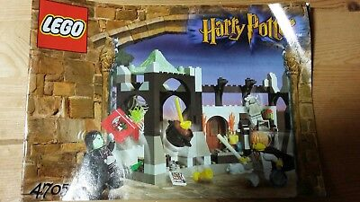 Lego Harry Potter Bauanleitung 4705 Snapes Labor