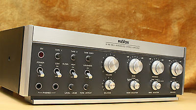 revox b750 mkii integrated stereo amplifier highend. Black Bedroom Furniture Sets. Home Design Ideas