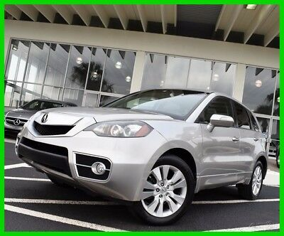 2011 Acura RDX Base Sport Utility 4-Door 2011 Used Turbo 2.3L I4 16V Automatic FWD SUV Premium Moonroof