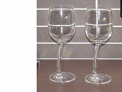 Jp Chenet 'bendy' Wine Glass (X2) (Embossed)