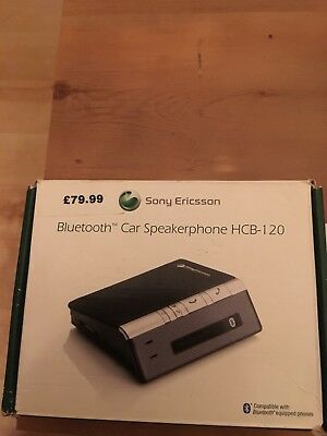Bluetooth Car Speakerphone HCB-120 Sony Ericsson