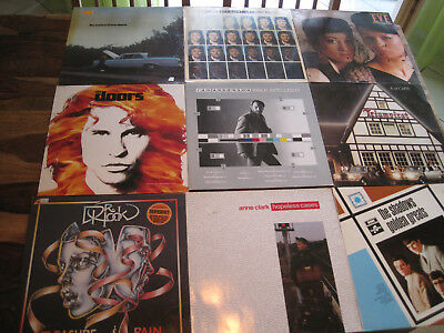 51 LP ROCK POP KRAUTROCK 60 70s 80´s THE DOORS JETHRO TULL ANDERSON CHUCK BERRY