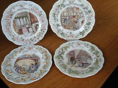 Royal Doulton Bramley Hedge Collection of Plates