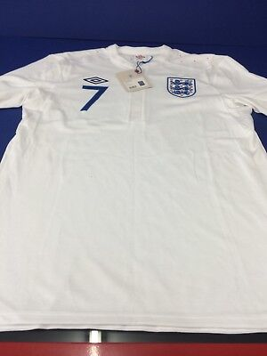 England Shirt Large Number 7
