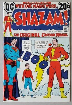 Shazam! #1 1st Captain Marvel Since The Golden Age/Origin retold NM