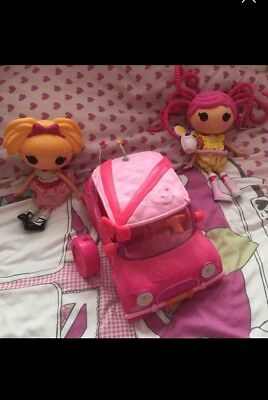 LalaLoopsy  Dolls And Remote Control Car