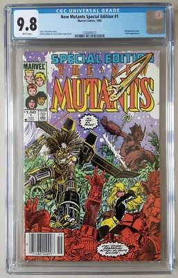 The New Mutants Special Edition #1 CGC 9.8 White Pages Marvel Comics