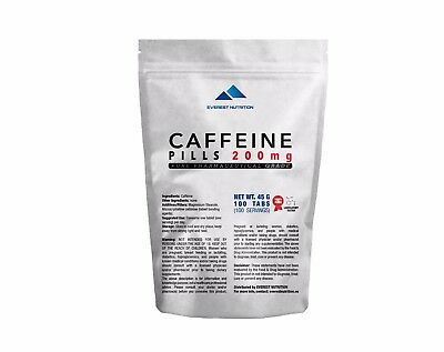 CAFFEINE 200mg EXTRA STRONG TABLETS PILLS 100% PHARMACEUTICAL QUALITY