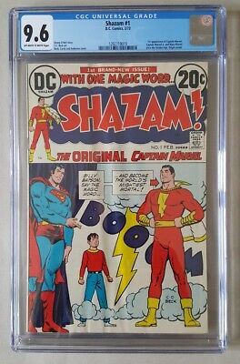 Shazam! #1 1st App Since The Age Golden Age & Origin Retold CGC 9.6 DC COMICS