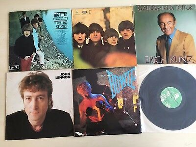 INSTANT RECORD COLLECTION – 10kg of 12 inch vinyl records job lot! 42 records