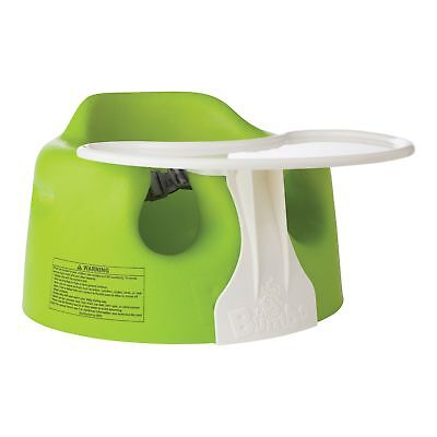 Bumbo Baby Combo Floor Seat and Play Tray - Lime