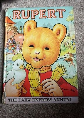 Rupert The Daily Express Annual 1981 Good condition