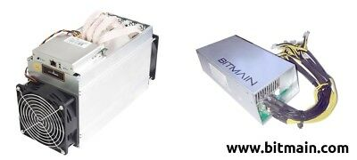 AntMiner D3  15GH/s X11  Dash MinerWithBitmain Power Supply delivery 1-15  NOV