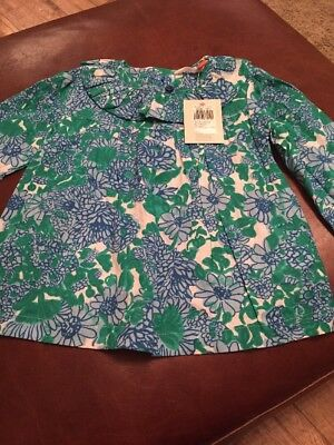 Girls John Lewis Top 9-12 Months Brand New With Tags