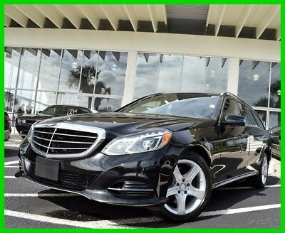 2014 Mercedes-Benz E-Class E350 2014 E350 Used 3.5L V6 24V Automatic 4MATIC Wagon Moonroof Premium