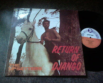 The Upsetters - Return Of Django - Lp Trojan Records  Trl 19  1995  Stereo