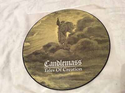 """Candlemass """"Tales Of Creation"""" original 1989 picture disc LP"""