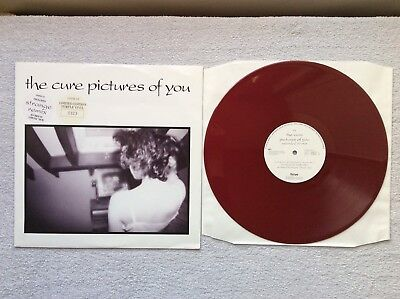 "The Cure Pictures Of You Purple Vinyl 12"" Single Extended Remix"
