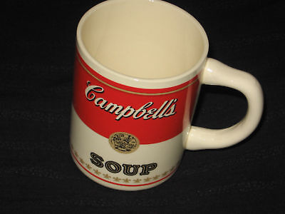 Campbell's Soup Soupe English French Original Vintage Soup Drinking Mug