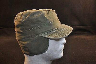 Korean War US Army Cap Field Cotton OD w/ Visor M1951 MASH Size 7 Good Plus #8