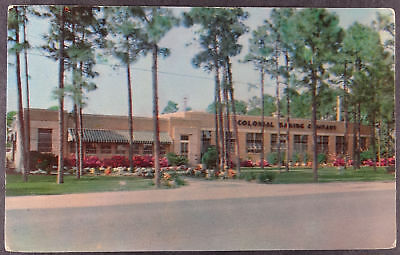 Gulfport Mississippi Colonial Baking Co. Building Postcard c787