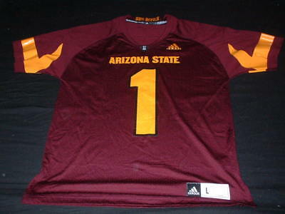 Arizona State Sun Devils USA NFL American Football Large Mans No1 Adidas Jersey