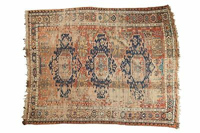 7x8.5 Antique Caucasian Soumac Carpet