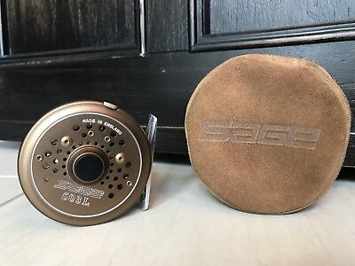 Sage 503L Fly Fishing Reel. Hardy Made. W/ Case.